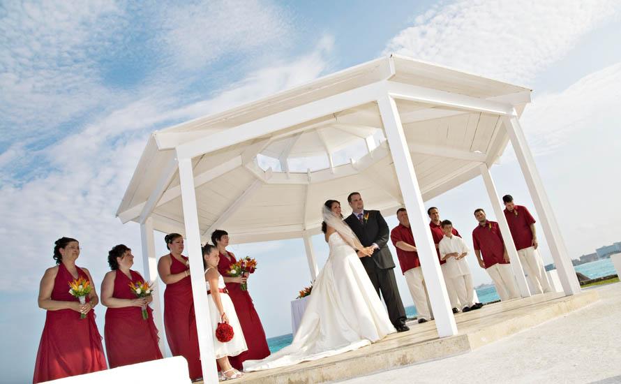 Dreams Cancun Wedding 5/28/09