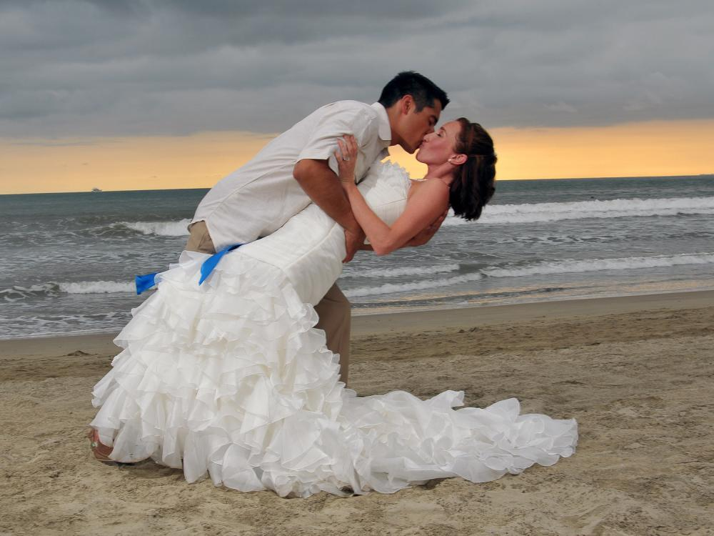 beautiful photo session after the ceremony