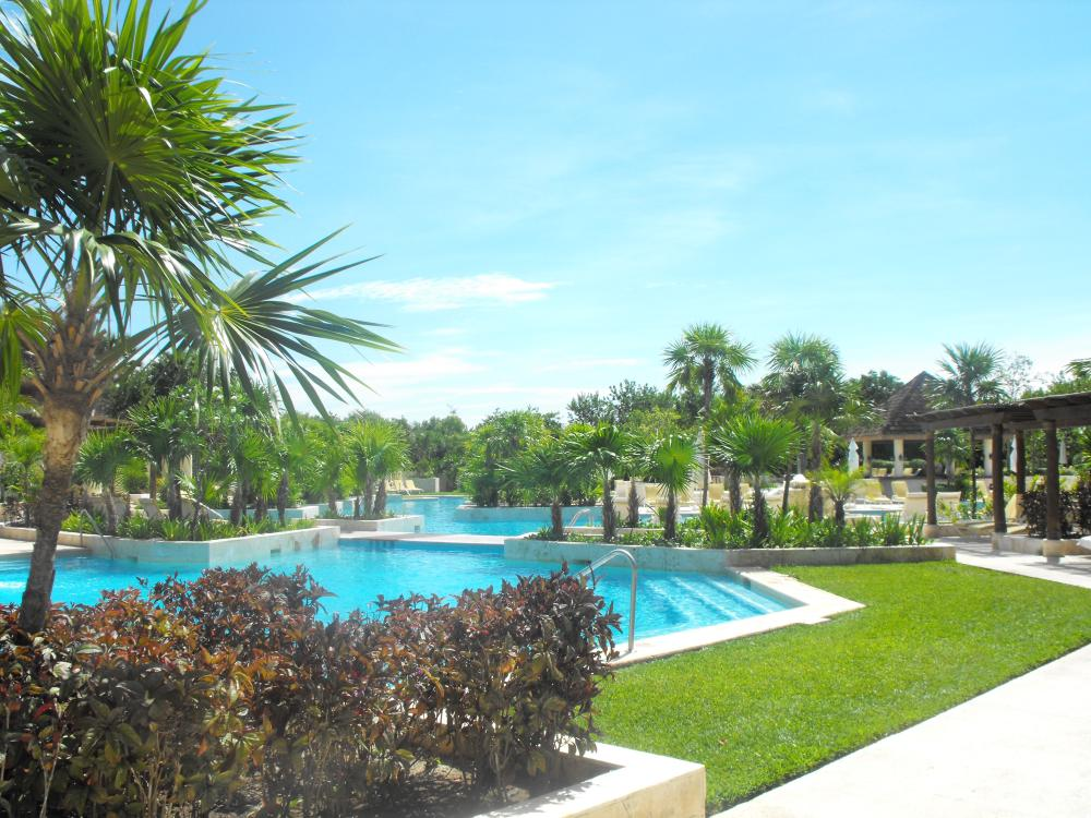 Another pool area