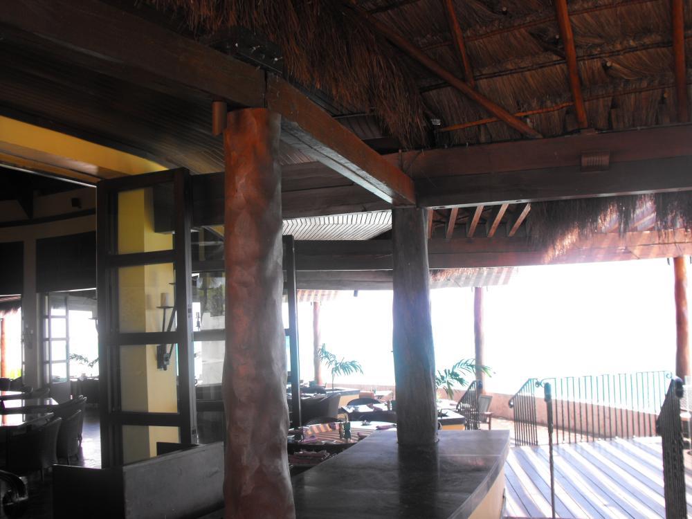 Terrace area, Las Brisas restaurant