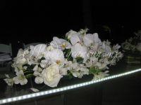 led lights acrylic table