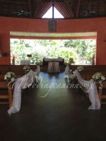 chapel decor at barcelo maya palace resort