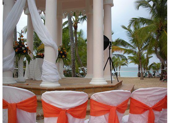 Ceremony In Beach Gazebo