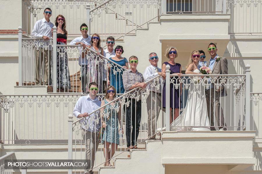 Wedding of Sarah and Josh Hotel Riu Palace Pacifico, Nuevo Vallarta, Mexico Photographer Eva Sica | weddings@photoshootsvallarta.com
