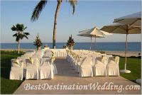 Love!!! the idea of using market umbrellas to shade our guests. I prefer the exterior alignment, FI prefers the interior. With this idea we can adjust the time of the ceremony of necessary.