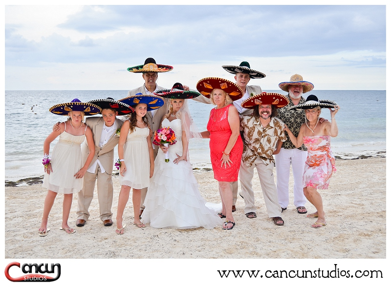 Destination Wedding Photography at the Now Sapphire Resort by Cancun Studios Photography www.cancunstudios.com