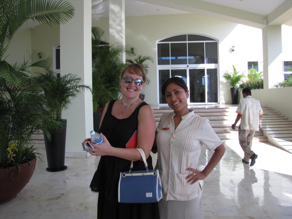 Ginger Blum (Blue Petal Weddings) and the Sales Manager of El Dorado Royale