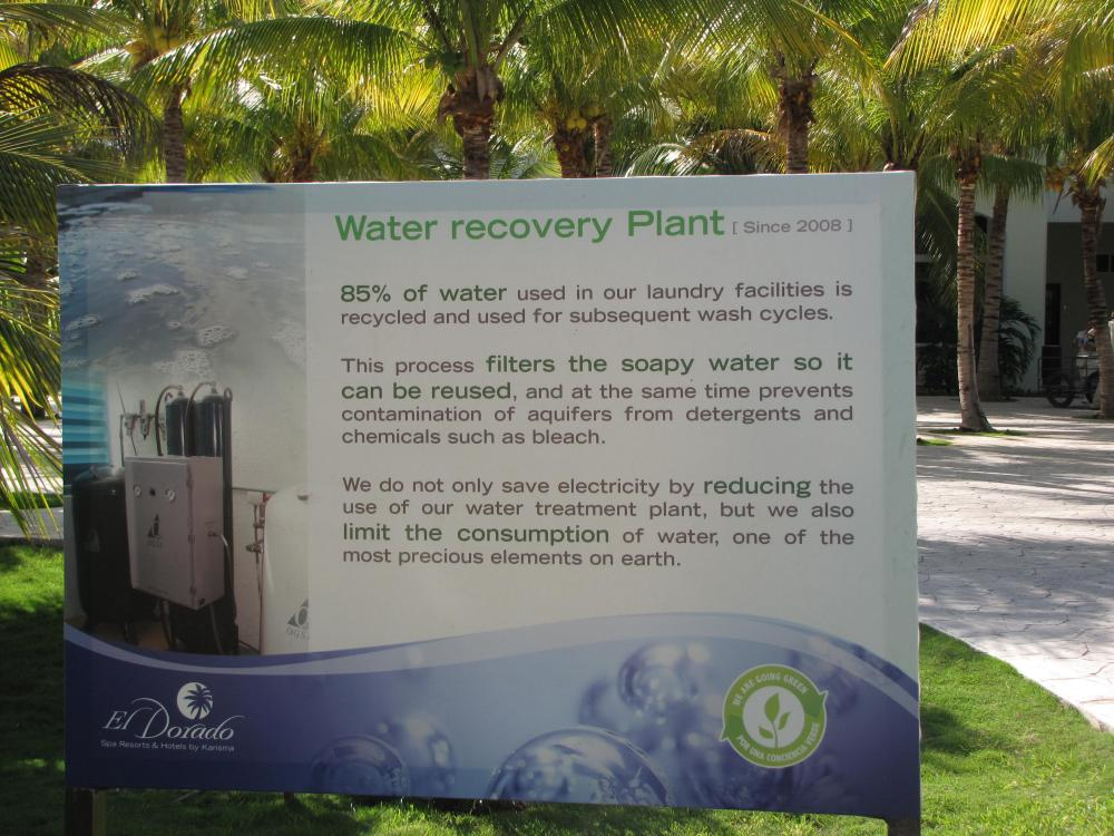 One of the many environmental efforts being made by Karisma properties