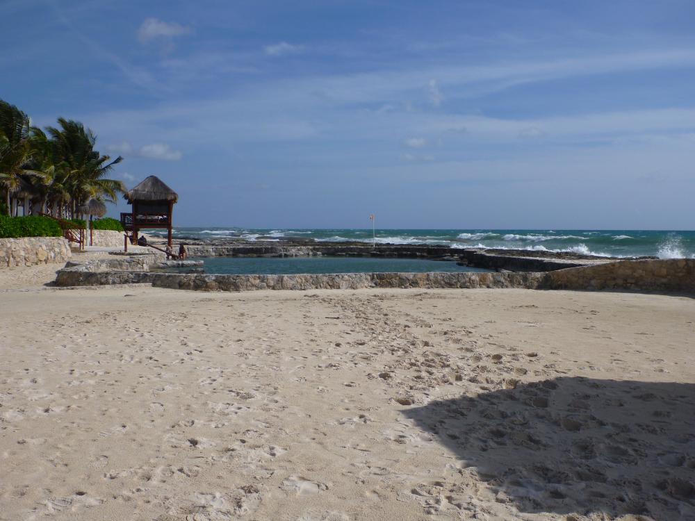 Gazebo across from Health bar (view north onto the salt pool)