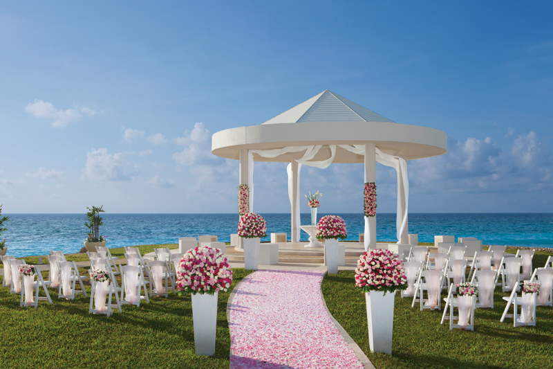 www.crystalwaterweddings.com Experienced travel agents who strongly value providing first class service and have a deep passion for destination weddings.  Dreams Cancun Resort & Spa.  An breathtaking spot to tie the knot in paradise.