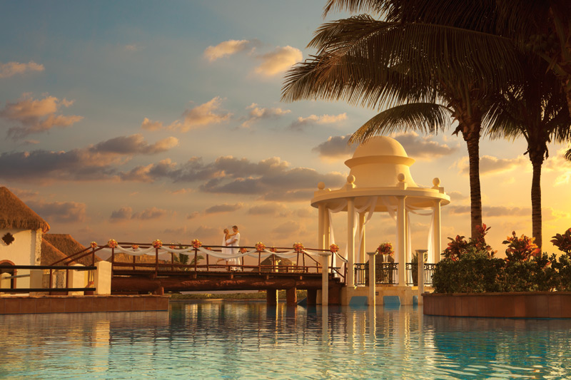 www.crystalwaterweddings.com Experienced travel agents who strongly value providing first class service and have a deep passion for destination weddings.  Now Sapphire Riviera Cancun.  Tie the knot under our spectacular wedding gazebo, surrounded by the e