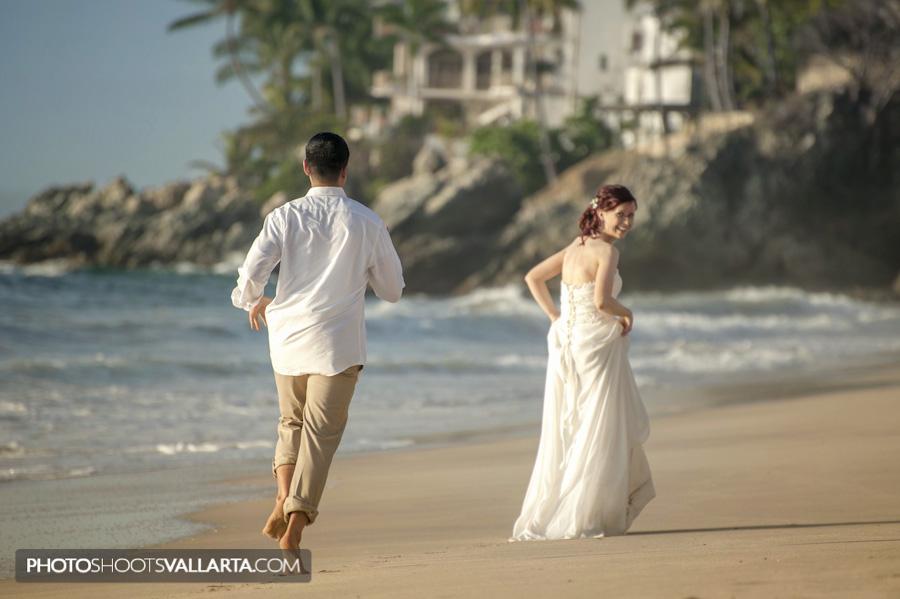 Wedding of Jane and Rowell in hotel Dreams Puerto Vallarta, Mexico Photographer Eva Sica   http://www.PhotoShootsVallarta.mx