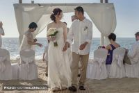 Wedding of Jane and Rowell in hotel Dreams Puerto Vallarta, Mexico Photographer Eva Sica | http://www.PhotoShootsVallarta.mx