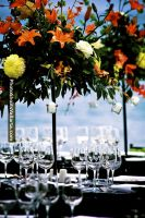 Large Centerpieces, you may choose from dozens of flowers and options