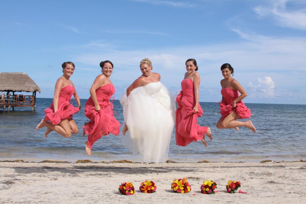 Me & my bridesmaids