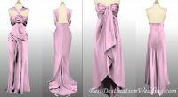 BM Attire: Satin/charmeuse tea length dresses