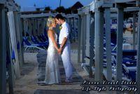 Beach wedding at The Royal, Playa del Carmen, Mexico.