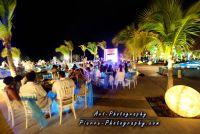 moon palace wedding outdoor reception