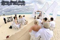 Beach wedding Royal Cancun, Mexico.