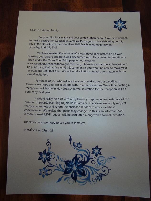 STD Letter????
