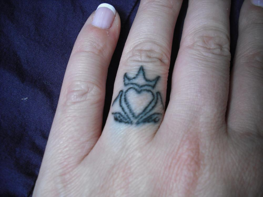 My ring.. I know it's not traditional, but Neither are we! Carats to follow! Band is coming from Tacori