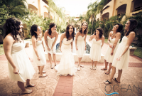 Essentially, the presence of the bridesmaid ensures that the bride has someone to lean on during one of the most important--and potentially stressful--events in her life.