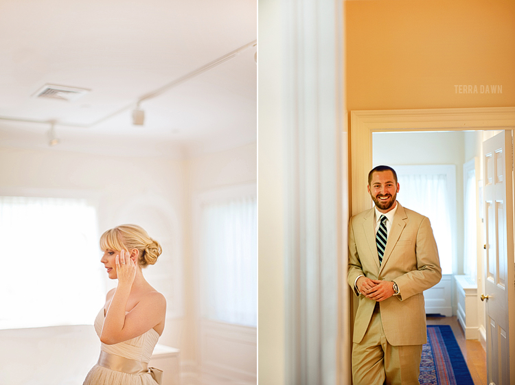 Nico and Jessica were married at Glenview Mansion in Washington DC.