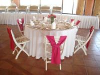 finisterra reception table set-up