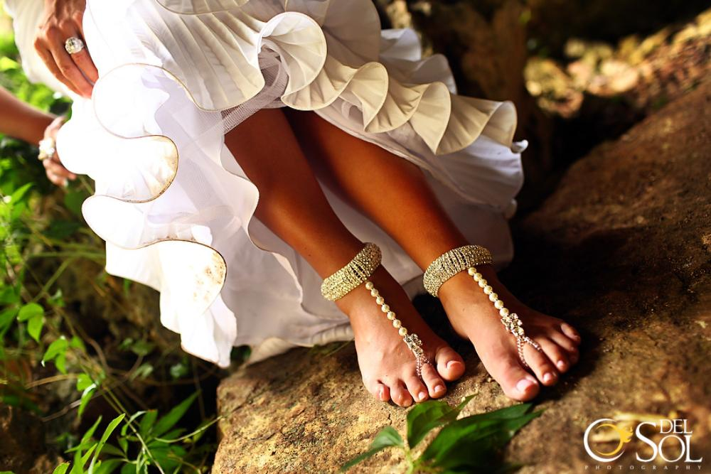 When BLING meets Barefoot Jewelry :)