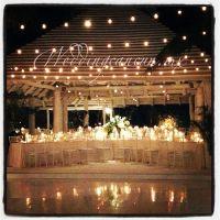 wedding decor at banyan tree mayakoba
