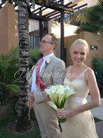 mexican calla lilies bridal bouquet