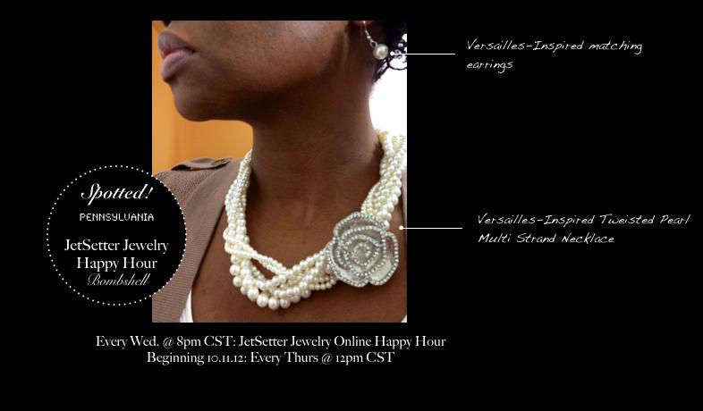 JetSetter Jewelry Online Happy Hour: FAN PHOTOS!