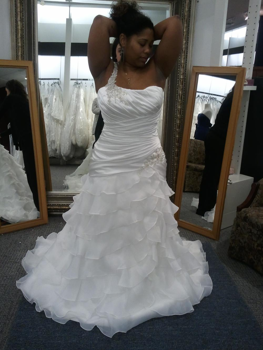 Show us your wedding dress!